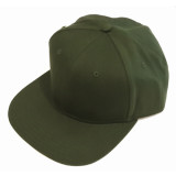 Gorra Hip Hop Verde Oscuro