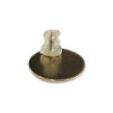 Pin metalico, base estandar, con etiqueta resinada - Dorso